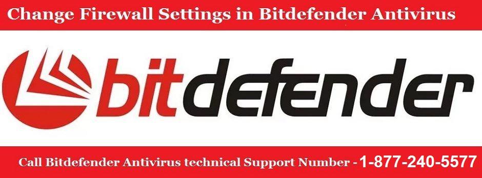 Firewall Settings in Bitdefender 2017