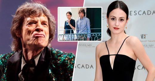 Mick Jagger tiene 73 años y es padre por octava vez