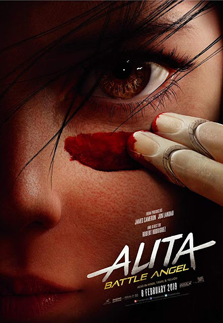 Alita: Battle Angel 2019 movie poster