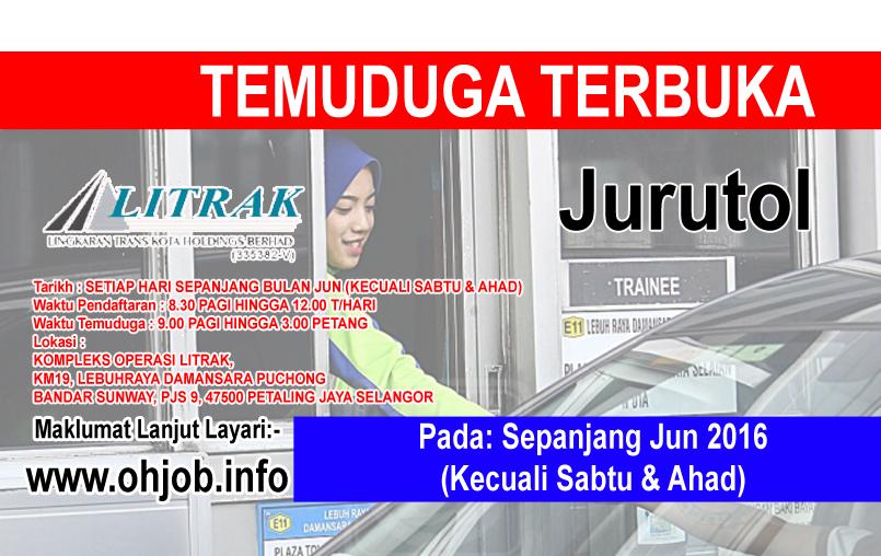 Jawatan Kerja Kosong Litrak Trans Kota (LITRAK) logo www.ohjob.info jun 2016