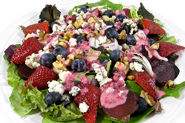 How to Make Mixed Berry Salad
