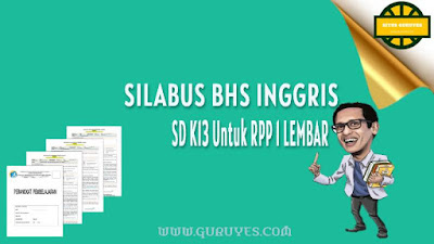 Download silabus Bahasa Inggris Kurikulum  Silabus Bahasa Inggris Kelas 6 SD Semester 1-2