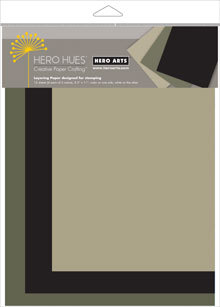 hero arts midnight mixed layering papers