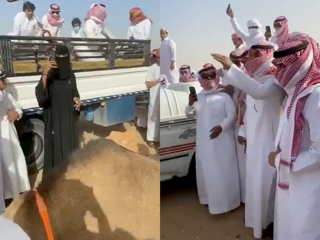 رشا العبدالله تثيرالجدل في السعودية بسبب مشاركتها في مزاد للإبل