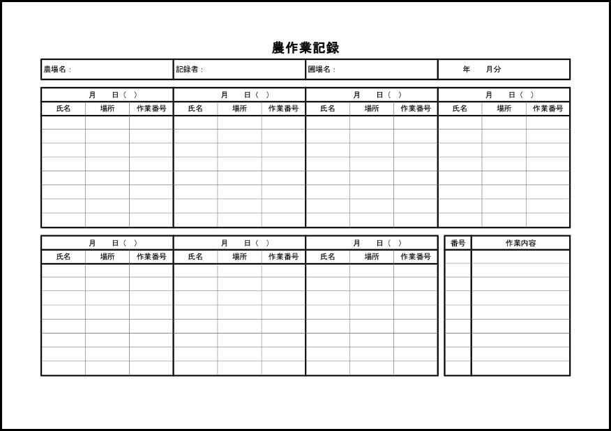 農作業記録 003