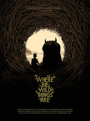 Where the Wild Things Are Movie Poster Screen Print by Matt Taylor x Spoke Art