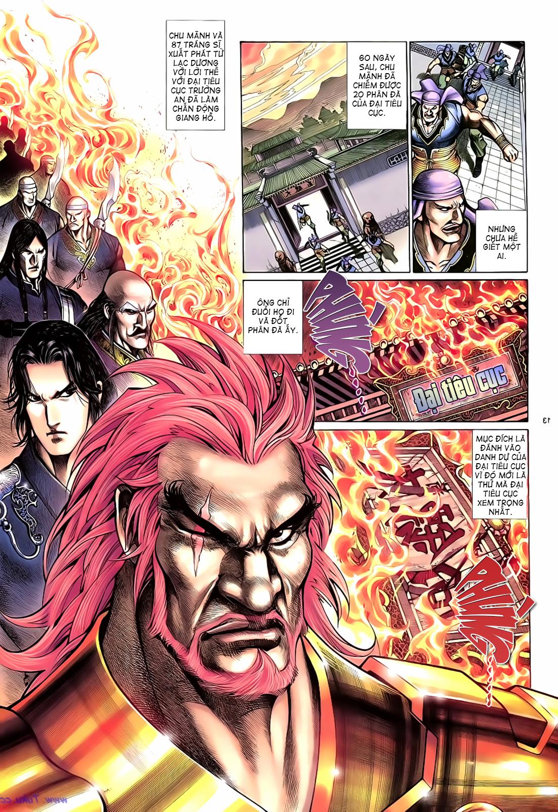 Anh hùng vô lệ Chap 17 trang 14