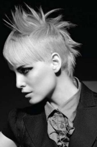 La moda en tu cabello: Sensuales cortes de pelo corto asimétrico ...