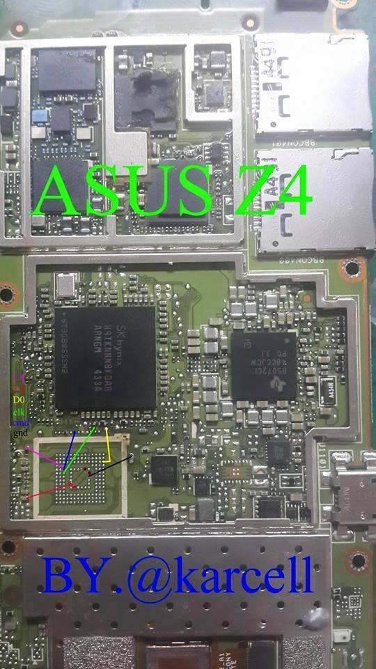 Pinout Direct Emmc Asus Via Ufi Box