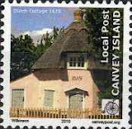 Canvey Local Post Dutch Cottage 1618 Stamp