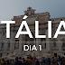 Itália Dia 1 - Fontana di Trevi | Piazza di Spagna | Piazza del Popolo | Terrazza del Pincio