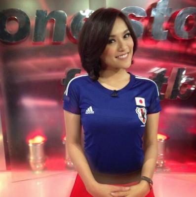 Anita Mae Presenter Olahraga Tercantik