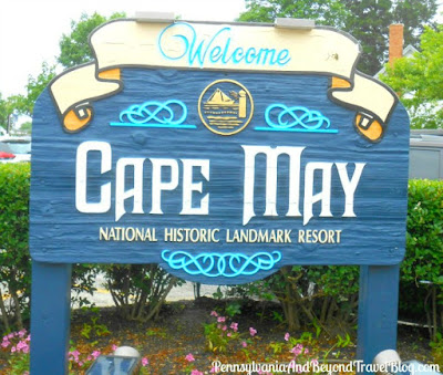 Welcome to Cape May in New Jersey