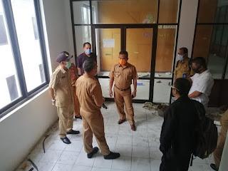Walikota Tarakan Melakukan Peninjauan Lokasi Gedung Kantor Badan Usaha Milik Daerah - Tarakan Info