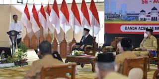 Di Aceh,  Presiden Tegaskan Ini!!!