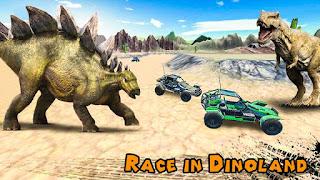 Dino World Car Racing v1.3 Mod