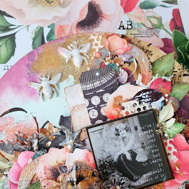 @nastyalena #mixedmedia #canvas #abstudio #finnabairstudio