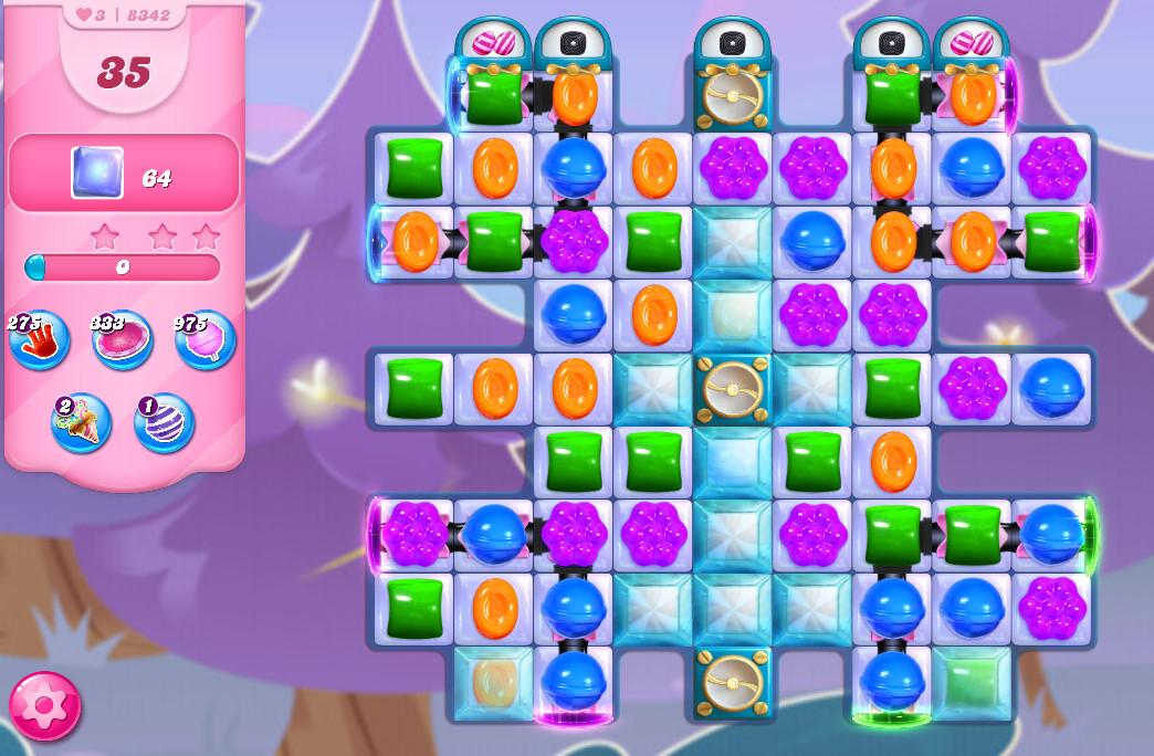 Candy Crush Saga level 8342