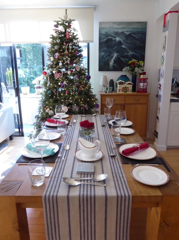 Christmas Tree and table setting