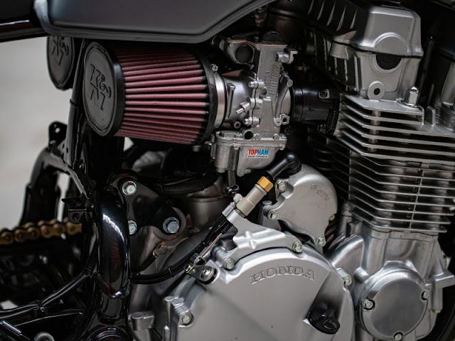 Honda CB750 1993 By HB Custom Hell Kustom