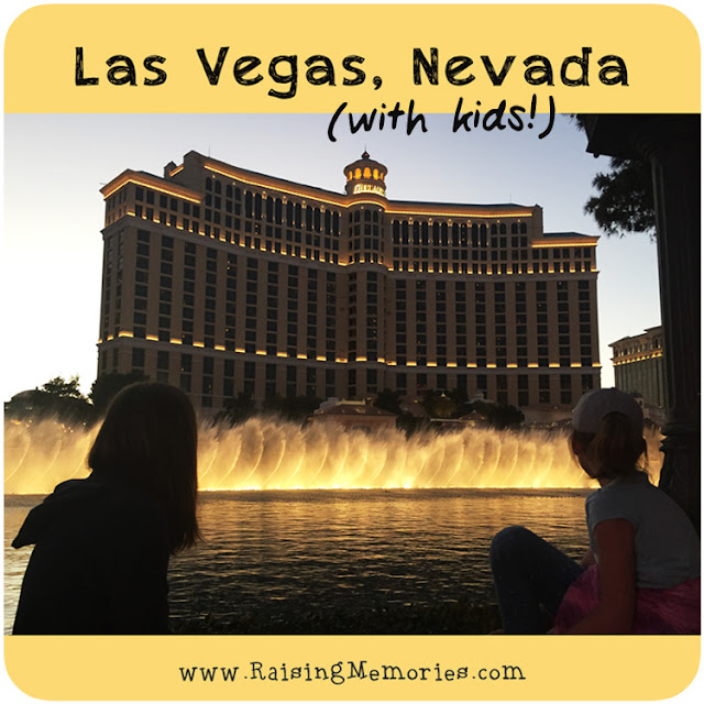Visiting Las Vegas Nevada with Kids