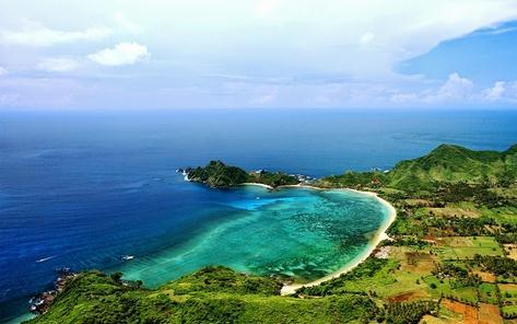 Tempat wisata pantai sekotong di Lombok