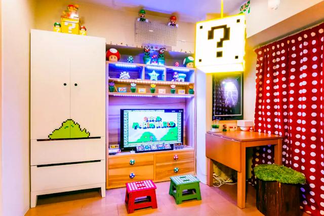 【要頂問號】日本夢幻Airbnb 超級瑪里奧主題住宿
