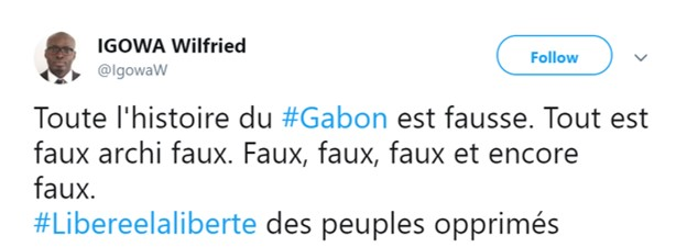 HERE'S A GOOD SUMMARY OF GABON  VOICI QUI RESUME BIEN LE GABON