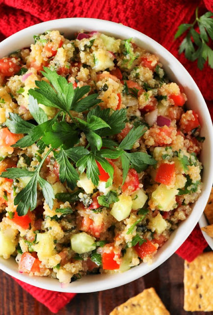 Gluten-Free Quinoa Tabouli {or Tabbouleh} Image