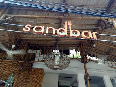 channel letters sandbar kuta
