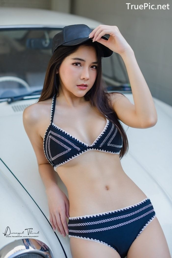 Image Thailand Model - Phitchamol Srijantanet - Triangle Bikini Tops - TruePic.net - Picture-3