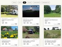 Legaler Stellplatz in der Natur, eine Alternative zum Campingplatz oder Wildcamping
