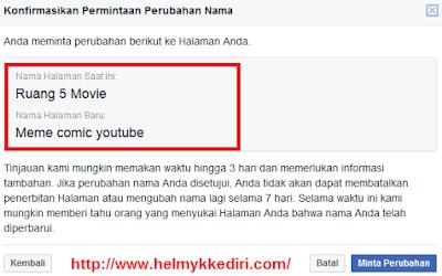 Cara merubah nama halaman facebook3