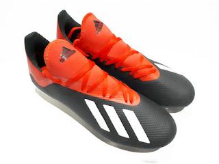 Sepatu Bola Adidas X18.3 FG Black Red New Original Sisa Stok ADD002
