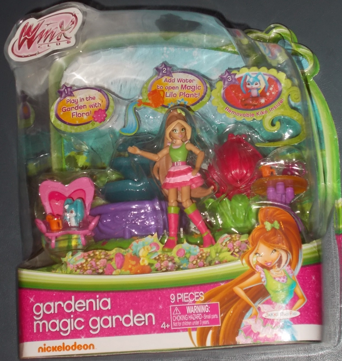 Winxclublove nuevo play set el jard n m gico de flora de for El jardin magico