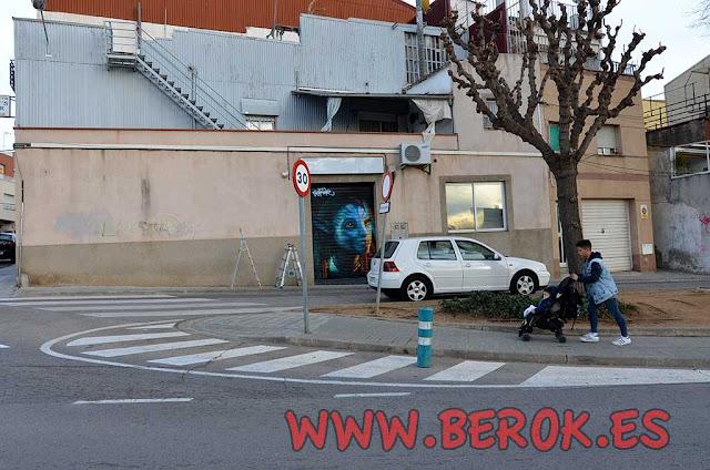 graffiti persiana Terrassa