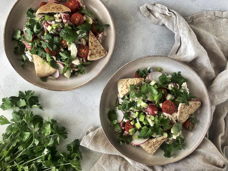 fattoush-salaatti
