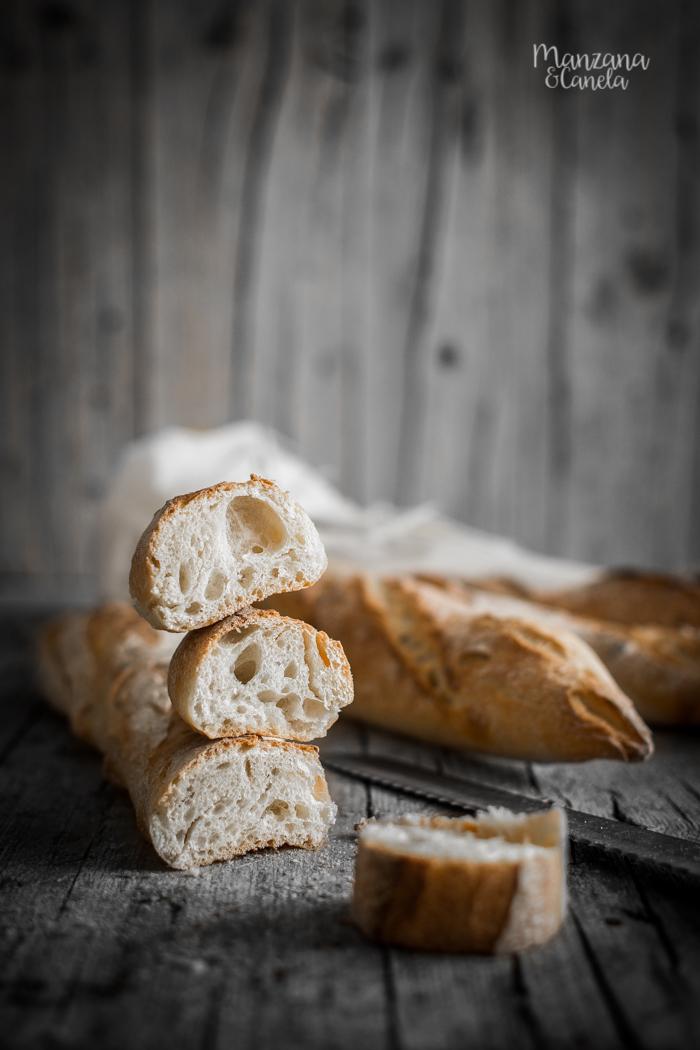 Baguettes muy fáciles - Receta con y sin masa madre