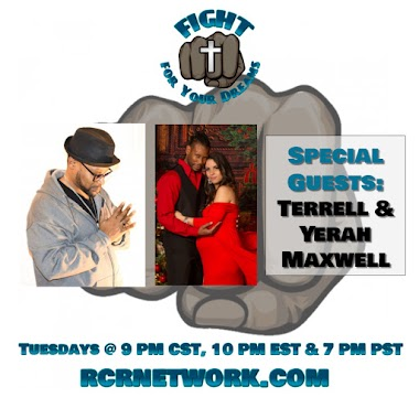Special Guest Terrell & Yerah Maxwell