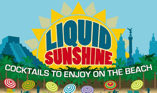 Liquid Sunshine: 15 Cocktail Recipes to Enjoy at the Beach #infographic ~ Visualistan