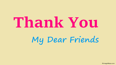 Images of Thank You for friends