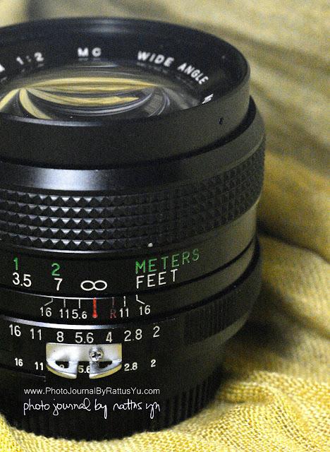 Vivitar 28mm f/2 MC Wide Angle Lens by Kiron