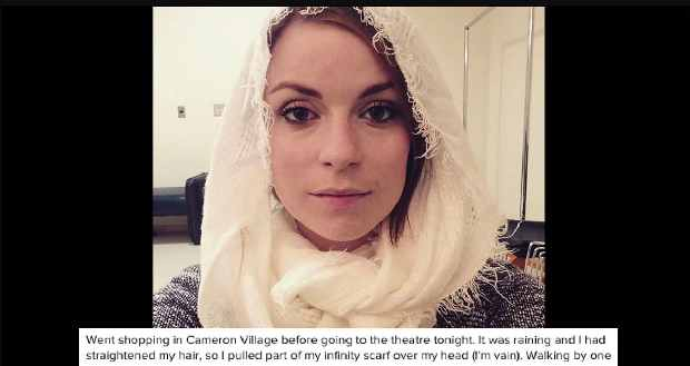 Harassed for Wearing Headscarf. She's Not Even Muslim