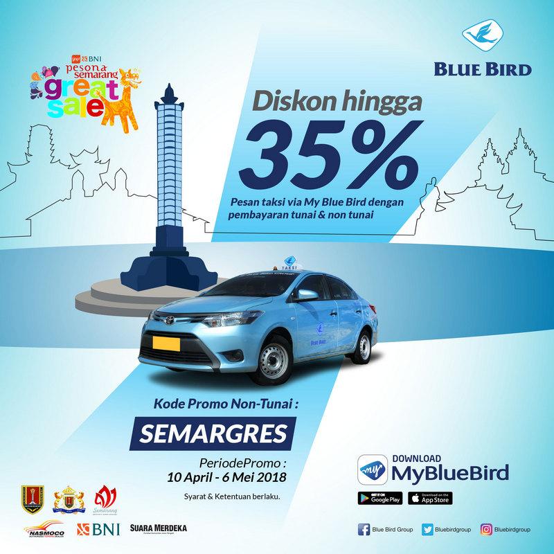 Semarang Great Sale, Blue Bird Berikan Potongan Harga Menarik!