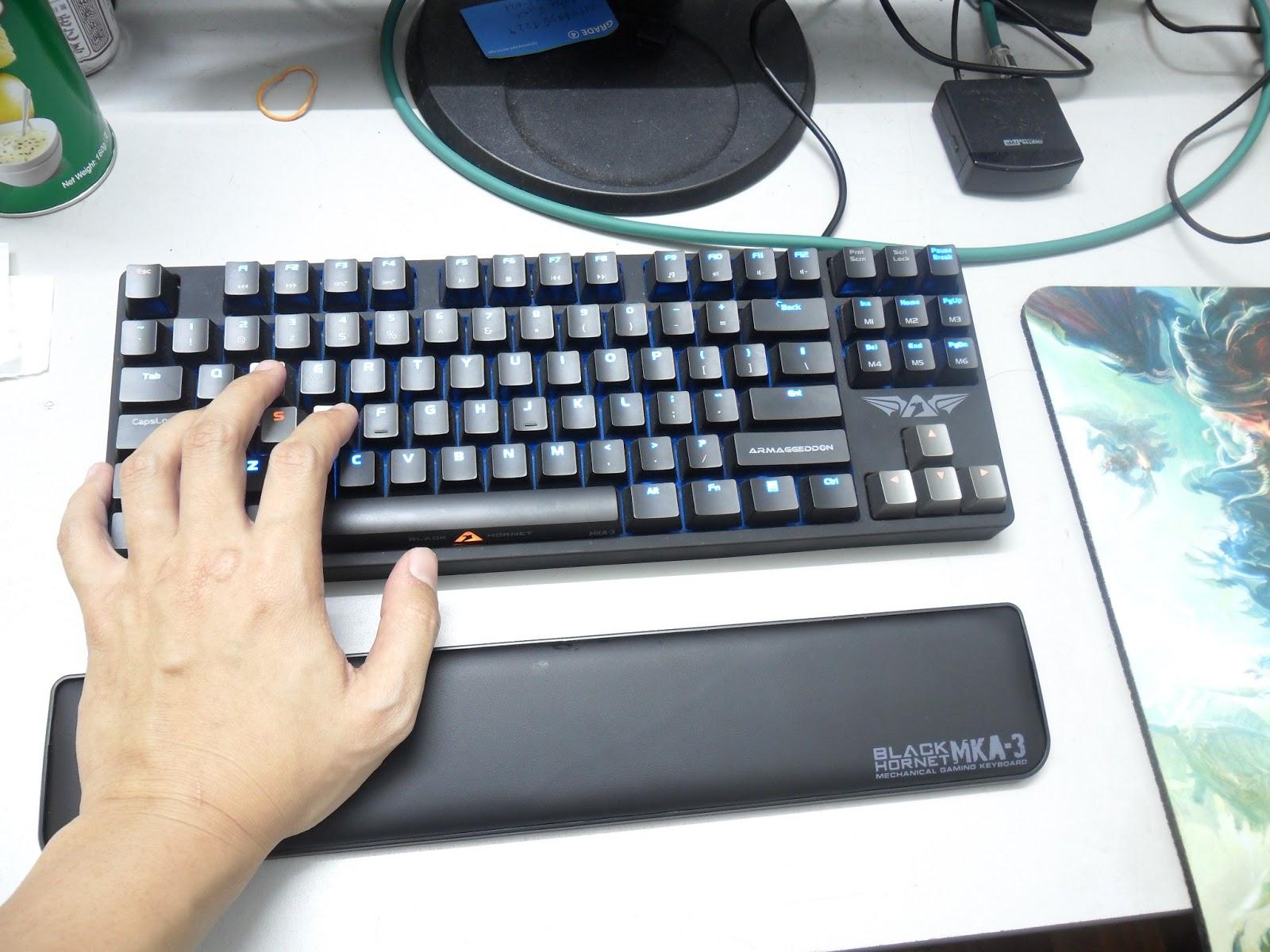 Unboxing & Review: Armaggeddon Black Hornet MKA-3 Mechanical Gaming Keyboard 24