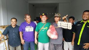 RCI, PWI Peduli dan SMSI Tanggap Bencana Serahkan Sembako kepada Warga Terdampak Covid-19