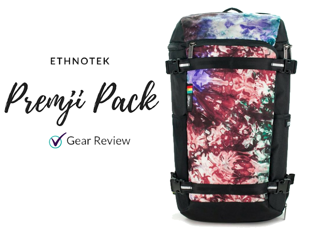 Ethnotek Premji Backpack gear review