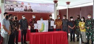 Tapal Batas Kabupaten Samosir dengan Dairi dan Pakpak Barat Disepakati