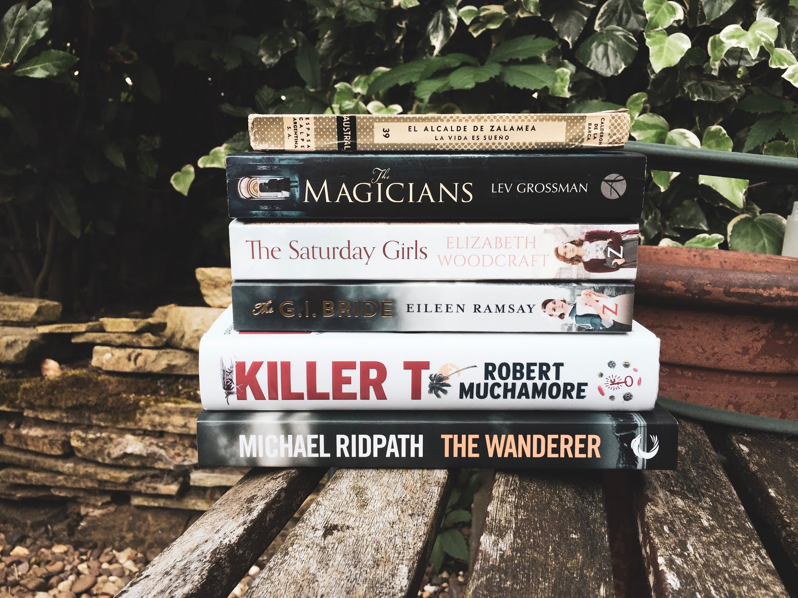 august, 2018, book, bookish, haul, the magicians, penguin classics, robert muchamore, michael ridpath