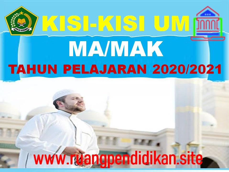 Unduh Kisi-kisi Ujian Madrasah Aliyah